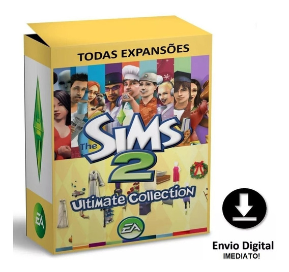 The Sims 2 - Todas As Expansões - Digital - Pc