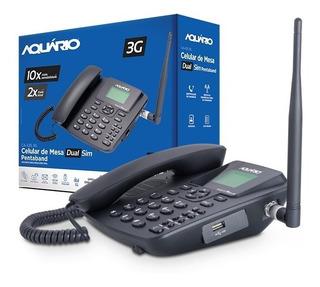 Telefone Celular Rural Mesa Ca-42s 3g Aquário Desbloqueado
