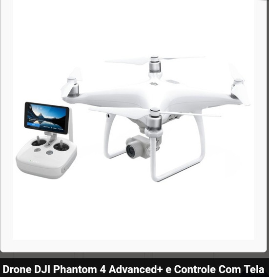 Droner Phantom Advanced 4 Com Tela