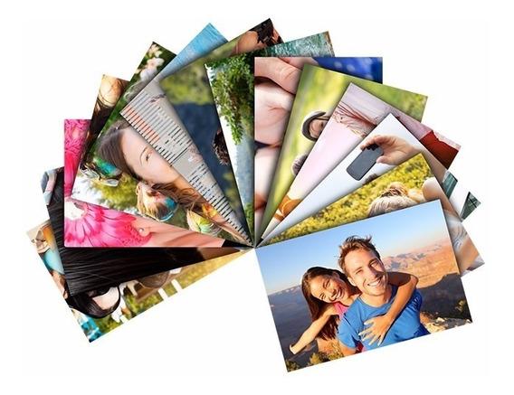 1000 Fls Papel Fotográfico A6 Glossy Brilhante 180g 10x15