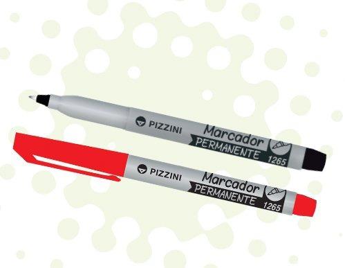 Marcador Permanente Para Cd 0,5 Mm Rojo Pizzini 1265rj
