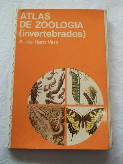 Livro - Atlas De Zoologia Invertebrados A. De Haro Biologia