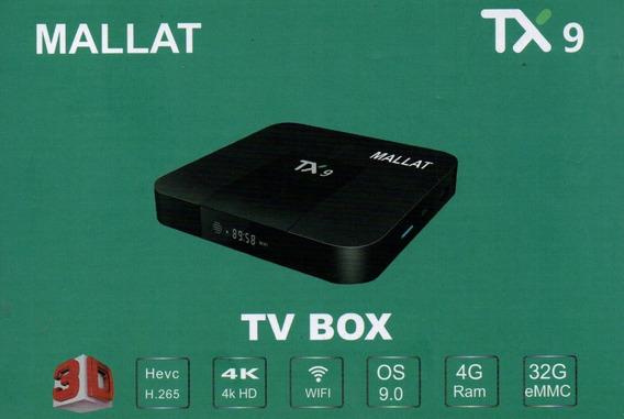 Transforma Smart Tx9 4k 32gb 4gb Ram Android 9.0 Mallat