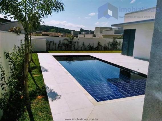 Casa Com 4 Dormitórios Em Condomínio Em Atibaia, (m)