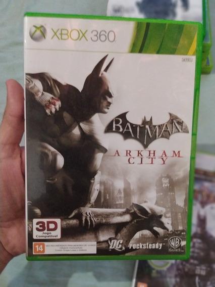 Batman Arkham: Asylum E Arkham: City / Xbox360 (2 Jogos/mf)