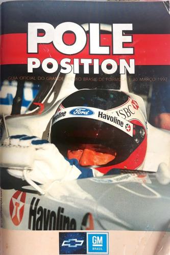 Pole Position Nº 12 - Guia Oficial Do Gp Brasil De F 1 1997