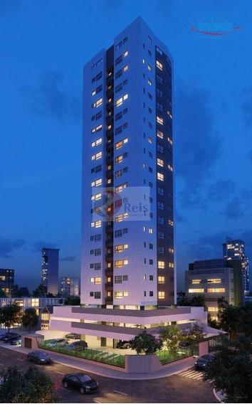 Apartamento Com 2 Dormitórios À Venda, 46 M² Por R$ 353.000,00 - Madalena - Recife/pe - Ap9886