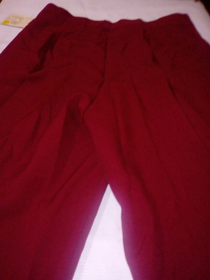 Pantalon De Brochas Para Dama Color Rojo