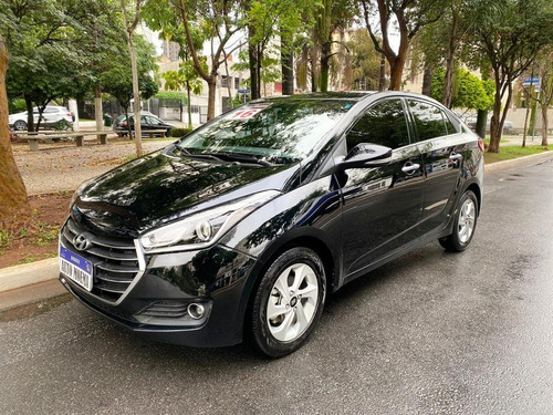 Hb20s 1.6 Premium Aut Flex 2016 Preto Apenas 33.975 Km