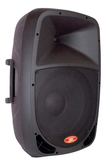 Caixa Ativa Donner Dr 808 A Usb Bluetooth Nca 80 Watts Rms