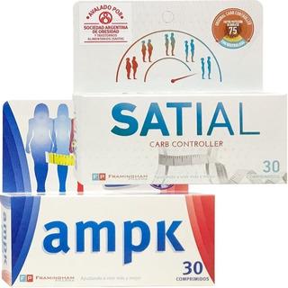 Ampk X 30 Comprimidos + Satial X 30 Comprimidos