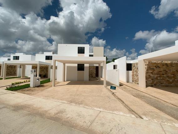 Casa Nueva En Venta En Privada Aleza, Modelo 178, Conkal, Mérida Norte