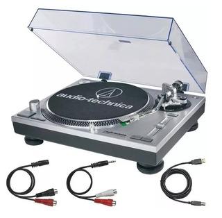 Tornamesa At-lp120 Usb, Color Silver, Audiotechnica