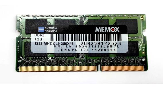 Memoria 8gb 2 X 4gb Ddr3 1333mhz Memox 16 Chips Nuevas Envio