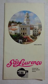 São Lourenço Folheto Turistico Minas Gerais