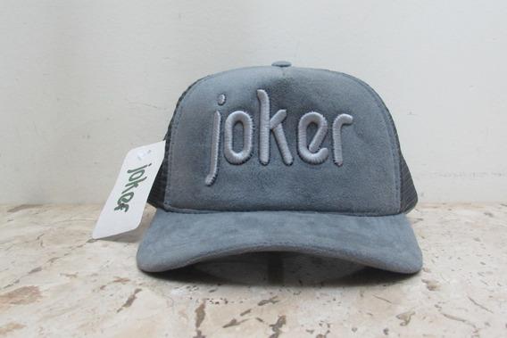 Boné Premium Joker - Cinza