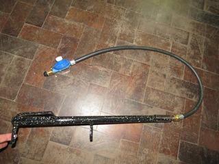 Mechero Quemador P/encender El Fuego C/ Manguera Y Regulador