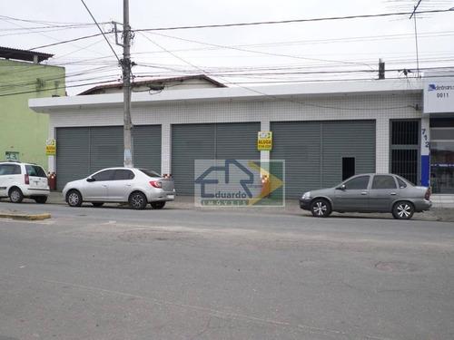 Salão Para Alugar, 70 M² Por R$ 2.600/mês - Calmon Viana - Poá/sp - Sl0077