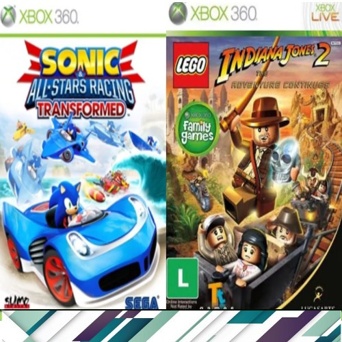 Lego + Sonic - Xbox 360 / One Midia Digital