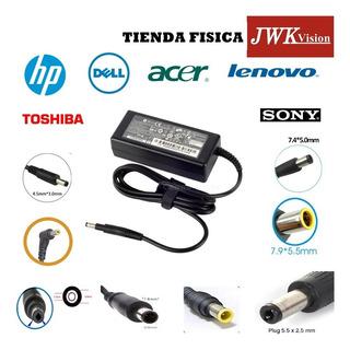 Cargador Laptop Hp Dell Toshiba Acer Lenovo Sony Apple Jwk