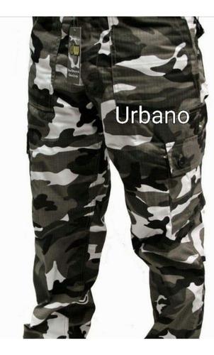 Pantalones Cargo Camuflados De Hombre Talles 40 Al 60 Mercado Libre