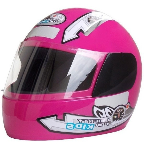 Capacete Liberty Four Girls Kids Infantil Pro Tork Rosa 54