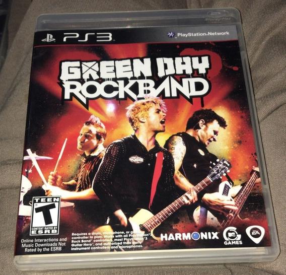 Jogo Green Day Rockband - Rock Band - Playstation 3 - Ps3