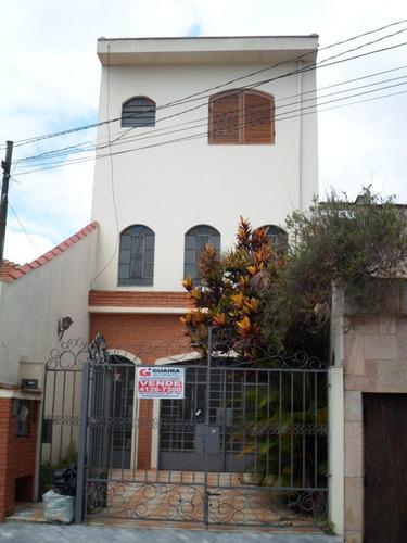 Imagem 1 de 20 de Lindo Sobrado 3 Dormitórios, 3 Vagas - Bairro Marlene - São Bernardo Do Campo  - 23917