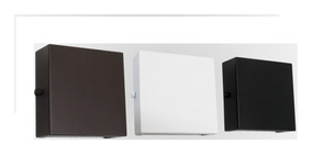 Arandela Led Externa Aluminio 2 Focos Slim Ar7 - I9led