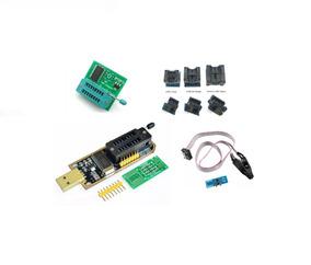 Programador Gravador Usb De Eprom Bios Ch341a + Adaptadores