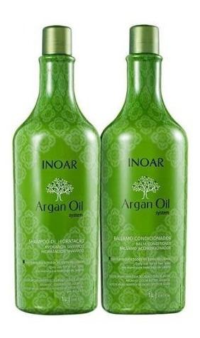 Kit Argan Oil Shampoo+condicionador (2 Produtos) Inoar
