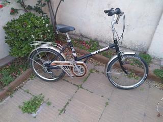 Bicicleta Rodado 20 Retro. Gt