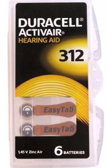 Bateria Auditiva Duracell - Activair 312