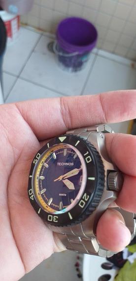Relógio Technos Acqua Automatico 8000 Metros 8215ah/5p