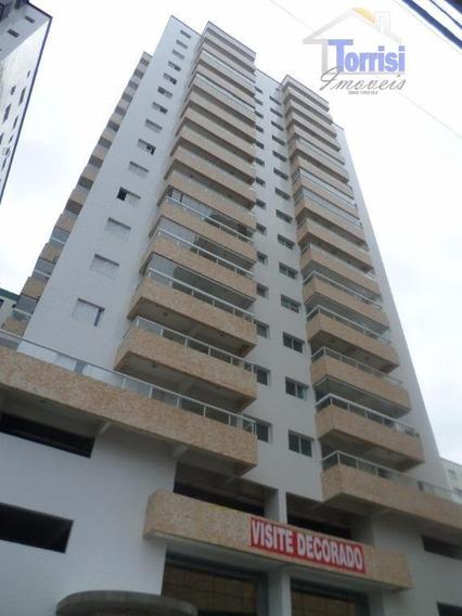 Cobertura Em Praia Grande, R$400.000,00 De Entrada, 03 Dormitórios Sendo 01 Suite, Com Lazer Na Ocian Co0008 - Co0008
