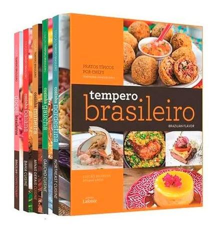 Tempero Brasileiro Box 5 Livros Edição Bilíngue