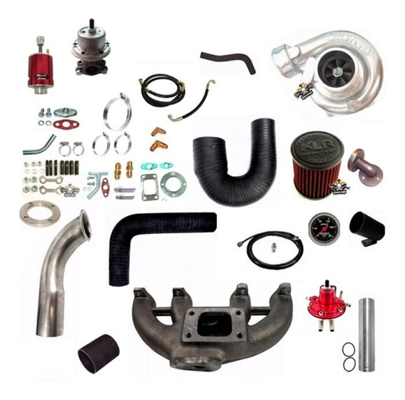 Kit Turbo Motor Vw Ap Injeção Mi 4 Bicos