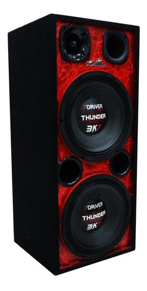 Caixa Ativa 2 Thunder 3k7 7 Driver Taramps Bi Volt Bluetooth
