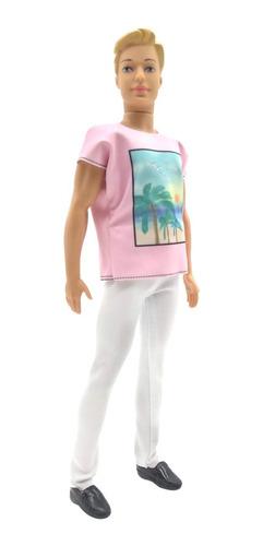 Thiago Muñeco 29 Cm Tipo Novio De Barbie Poppi Doll