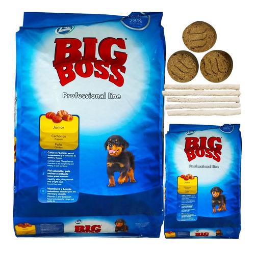 Comida Perro Cachorro Big Boss 22 Kg + Regalo + Envío Gratis