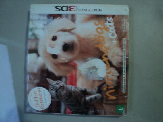 Jogo 3ds Original - Nintedogs + Cats -