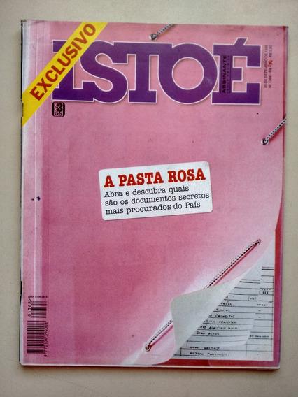 Revista Isto É 1368 A Pasta Rosa Documentos Secretos B603