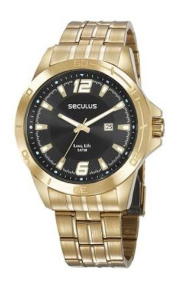 Relógio Seculus Masculino Long Life 28962gpsvda1