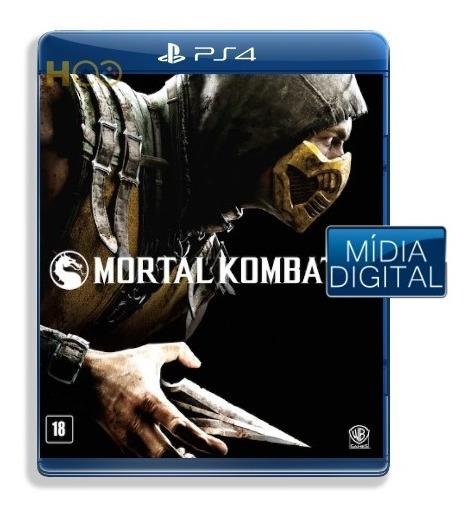 Mortal Kombat X - Ps4 Cod Psn I Entrega Imediata