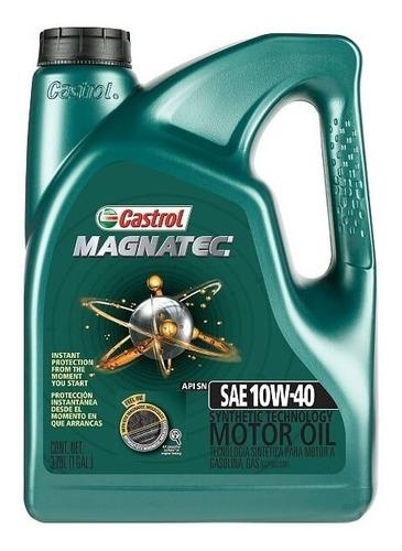 Imagen 1 de 2 de Castrol Magnatec 10w40 Galón Nafta Y Diesel