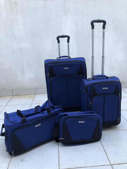 Set De Valijas American Tourist Azul