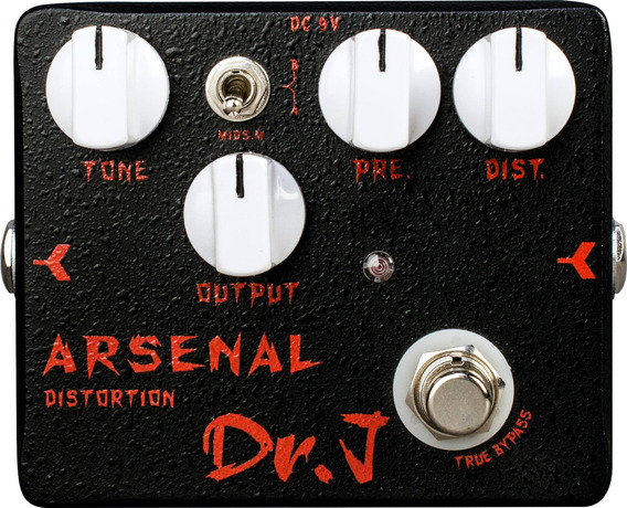 Pedal Guitarra Joyo Distortion - Dr J Arsenal