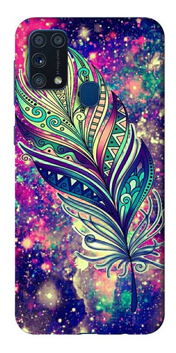 Estuche Personalizado Mandala Pluma iPhone Samsung Huawei