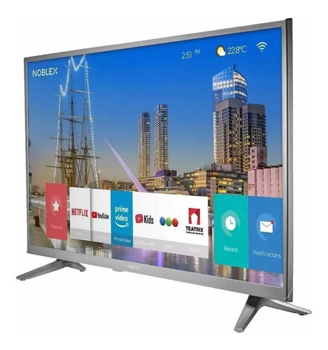 Smart Tv Led 32 Noblex Dj32x5000 Netflix Hdmi Usb En Cuotas