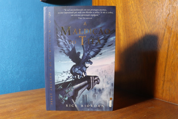 Percy Jackson A Maldição Do Titã - Livro Seminovo